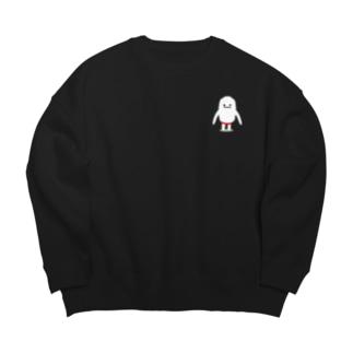 雪男のユキオ Big silhouette sweats