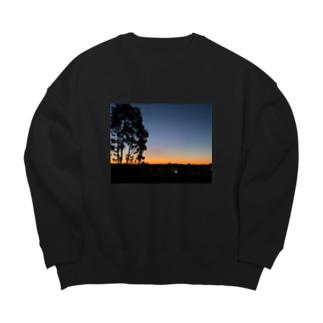 Sunset Big silhouette sweats