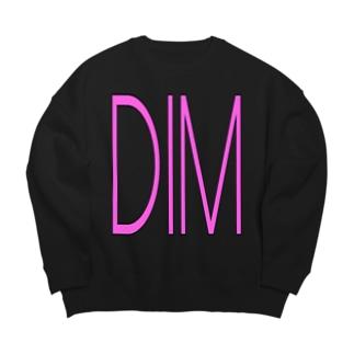 DIM_A_DARA PINK/DB_29 Big silhouette sweats