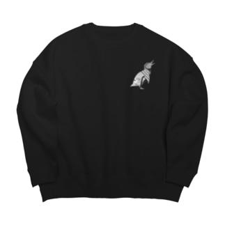 フンボルトペンギン白+ Big silhouette sweats