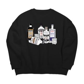 フィンランドのヘビーな酒 Big silhouette sweats