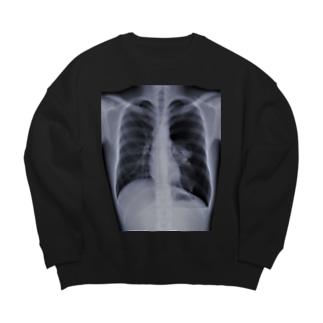 隻肺 Big silhouette sweats