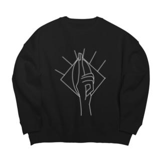真実 Big silhouette sweats
