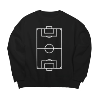 FOOTBALL PITCH LINE Big silhouette sweats