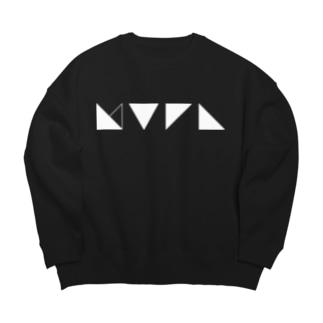謎記号グッズ Big Crew Neck Sweatshirt