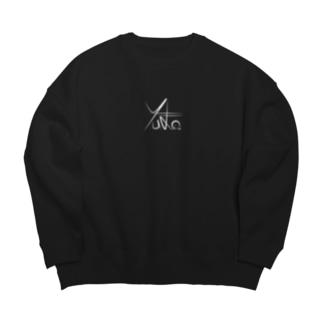 Yu-Ka Contrabass Original Item Big silhouette sweats
