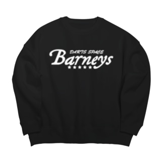 Barneys新ロゴ白 Big Silhouette Sweat
