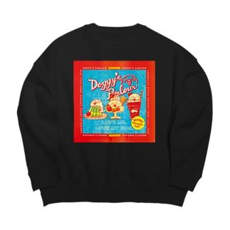 Doggy's Parlour アメリカンテイスト Big silhouette sweats