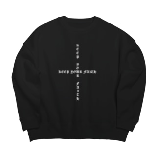 +++plus+++ Big silhouette sweats