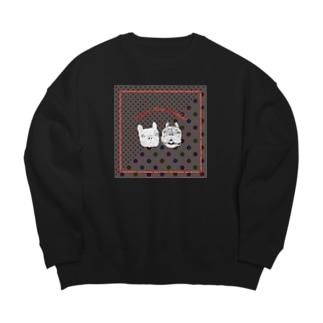 Joyeux Noel hohoho!【dg×ドット】 Big silhouette sweats