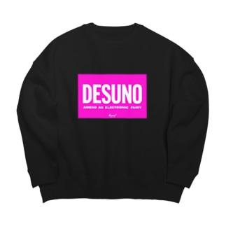 DESUNO☆ Big silhouette sweats