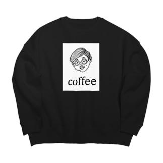 COFFEE MAN Big silhouette sweats