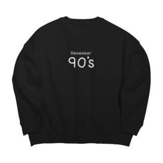 90年代 Big silhouette sweats