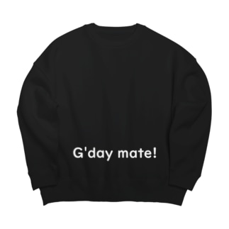 G'day mate! Big silhouette sweats