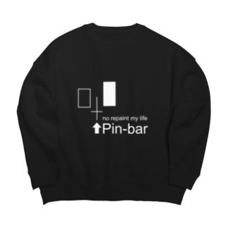 no repaint Pin-bar Big silhouette sweats