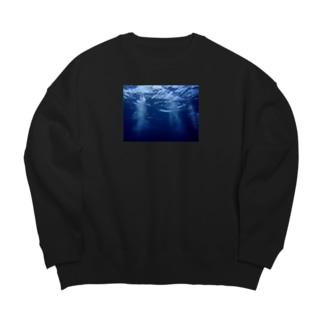 海の中の話 Big silhouette sweats