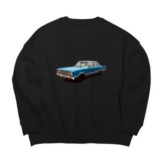アメリカン車 Big silhouette sweats