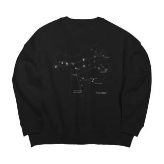 おおぐま座(88星座シリーズ) Big silhouette sweats