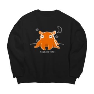 *suzuriDeMONYAAT*のCT145 メンダコUFO Big Crew Neck Sweatshirt