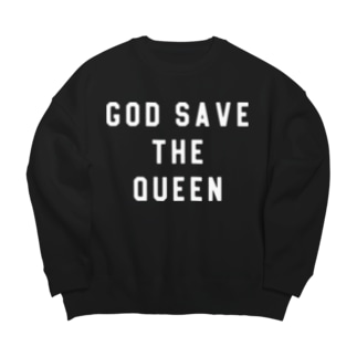 GOD SAVE THE QUEEN Big silhouette sweats