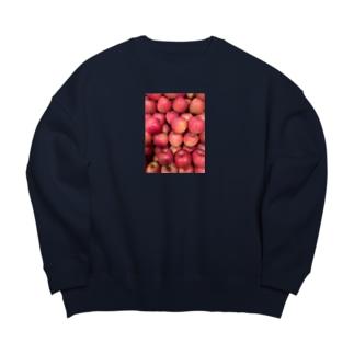 リンゴふぇすてぃばる Big silhouette sweats
