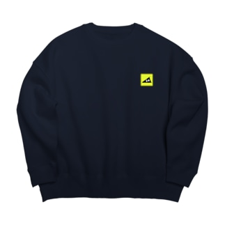 スリスリくん Big silhouette sweats