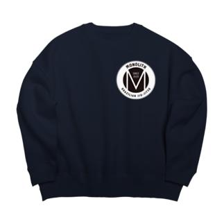 MONOLITH(モノリス)グッズ Big silhouette sweats