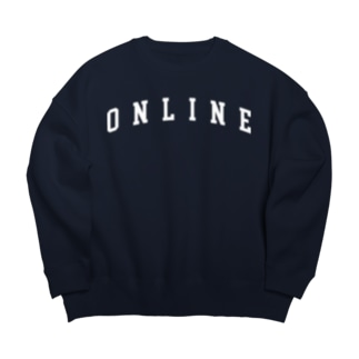ONLINE主張 Big silhouette sweats