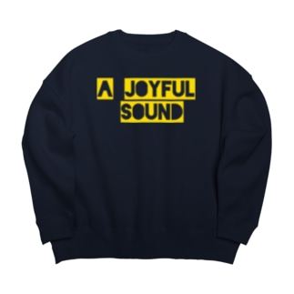 a joyful sound Big silhouette sweats