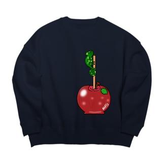 りんご飴とカメレオン Big silhouette sweats