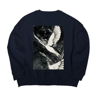 星燕 Big Crew Neck Sweatshirt