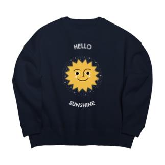 HELLO SUNSHINE Big silhouette sweats