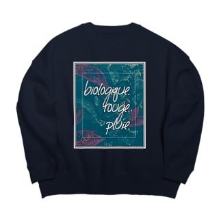 oka__のbotanical Big Crew Neck Sweatshirt