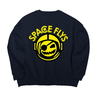 SPACE FLYS Big silhouette sweats