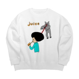 JUICE(ジュース)2 Big silhouette sweats