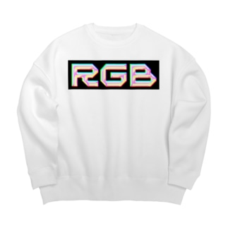 RGB Big Crew Neck Sweatshirt