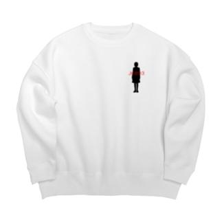 JK893 ~Ver~ Big silhouette sweats