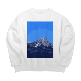 泉ヶ岳 Big silhouette sweats