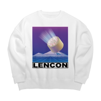 レンコンsci-fi Big silhouette sweats