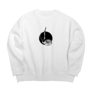 どんぐり のね 〈mono maru〉 Big Crew Neck Sweatshirt