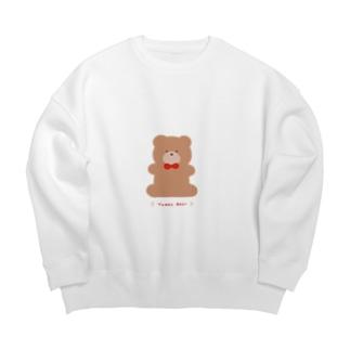 Teddy Bear Big silhouette sweats