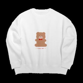 めろのTeddy Bear Big silhouette sweats
