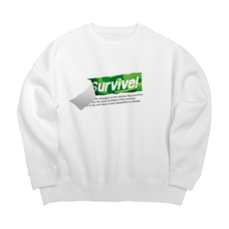 survive! 2nd Big silhouette sweats