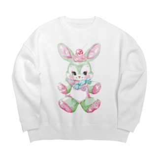 Poppin' Candy Bunny Big silhouette sweats