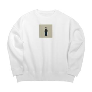 冬のCity Boy_ Big silhouette sweats