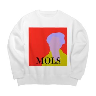 MOLS magazine sweat red Big silhouette sweats