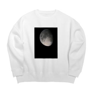 月*宇宙 Big silhouette sweats