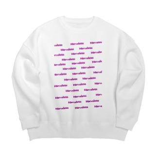 マーベラスデザイン Big Crew Neck Sweatshirt