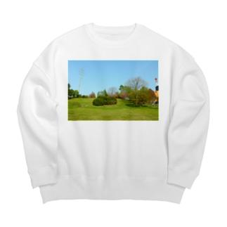 例の公園 Big silhouette sweats