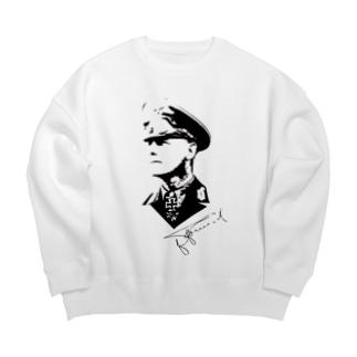 ロンメル元帥 Big Crew Neck Sweatshirt